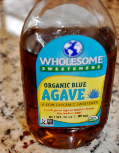 Agave (this brand is from Costco)