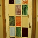 We decided not to paint the door itself...preference.