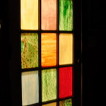 NEW TREND: Stained Glassed Interior Doors
